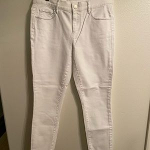 Loft embroidered jeans